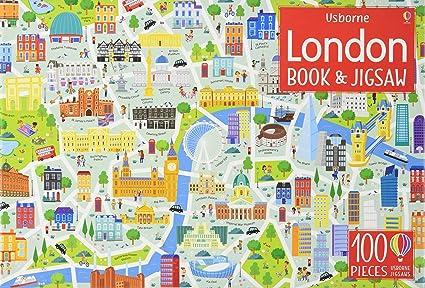Amazon.com: Usborne Book And Jigsaw: London: Toys & Games