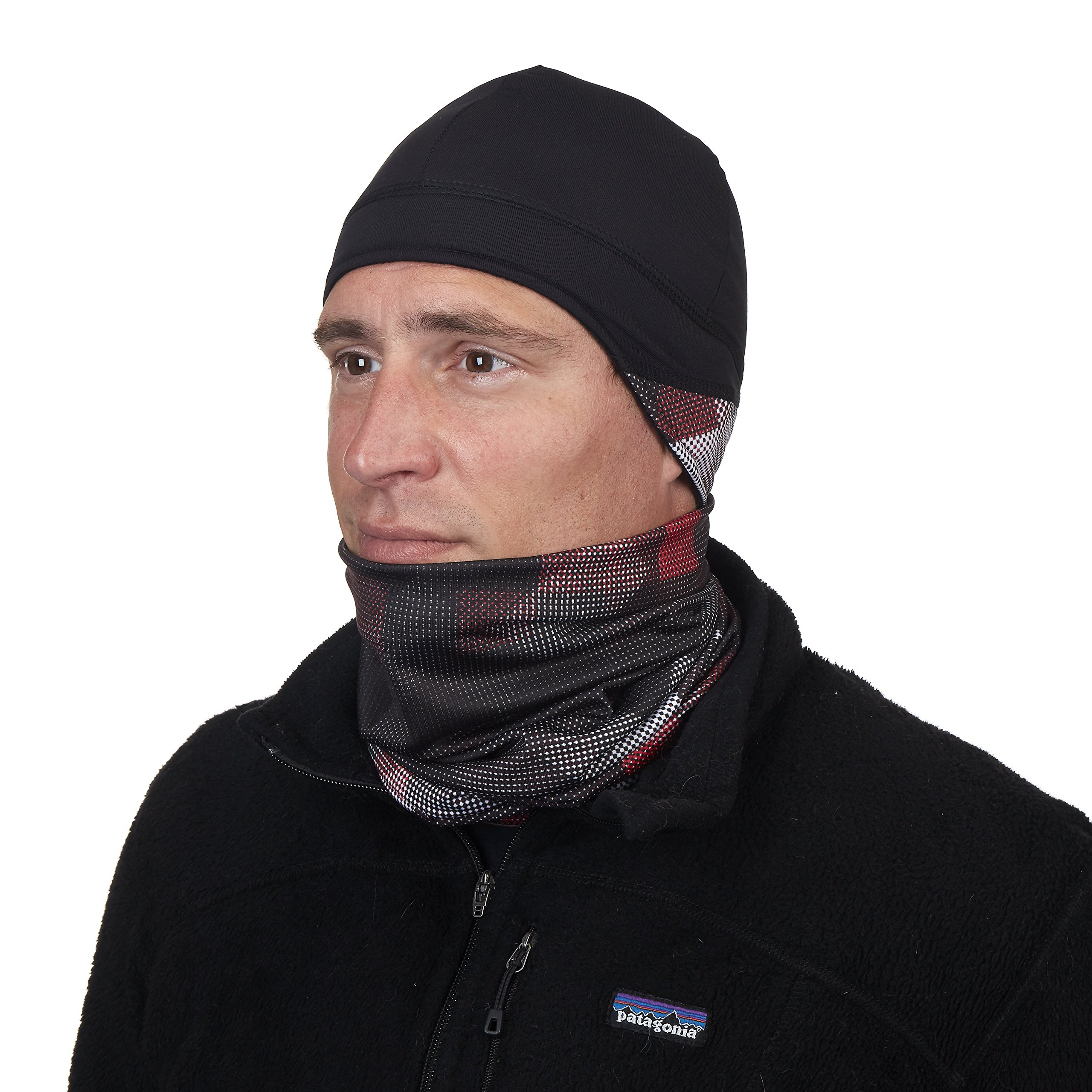 Turtle Fur Comfort Shell Totally Tubular Multiclava Neck Warmer Checks Mix by Turtle Fur (Image #3)