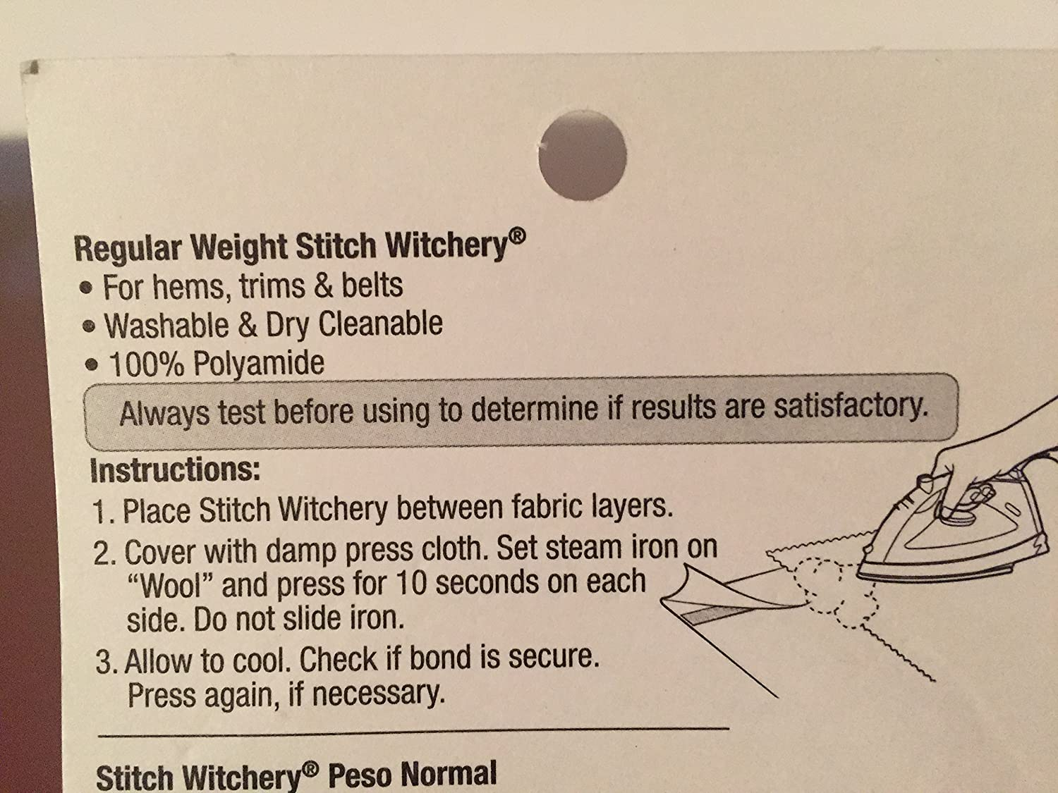 qty 2 CESDes Bundle Stitch Witchery Ultra and Regular fusible bonding tapes 5//8 x 20yds