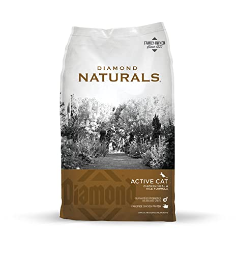 Amazon diamond naturals real meat recipe natural dry active diamond naturals real meat recipe natural dry active cat food with real cage free chicken protein forumfinder Gallery