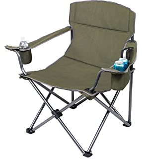 Internetu0027s Best XL Padded Camping Folding Chair | Cooler Bag | Outdoor |  Sports | Insulated