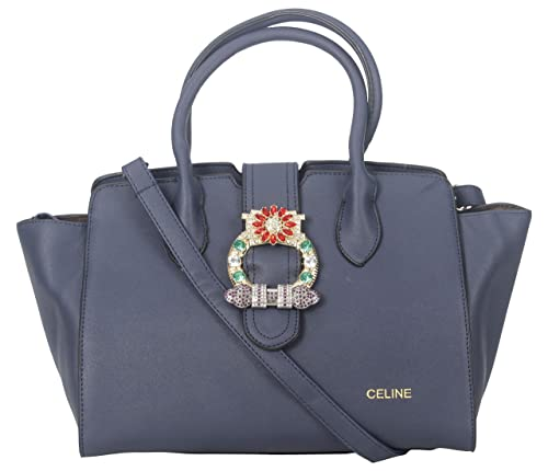 TBP Celine Branded Limited Edition Stylish Leather Hand Bags For Ladies -  Spacious 5665382069605