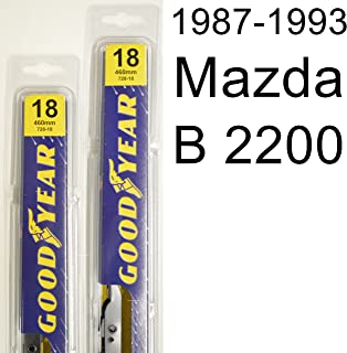"product image for Mazda B 2200 (1987-1993) Wiper Blade Kit - Set Includes 18"" (Driver Side), 18"" (Passenger Side) (2 Blades Total)"