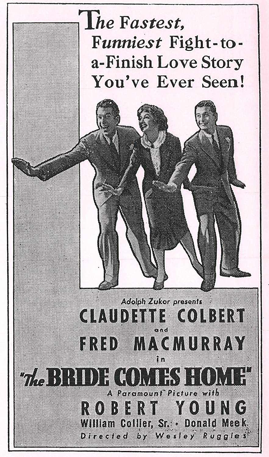 236f82dc21d01 Amazon.com: The Bride Comes Home: Claudette Colbert, Fred MacMurray, Robert  Young: Movies & TV