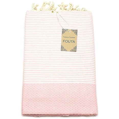 Anna aniq Premium Fouta Toalla de sauna XXL Extra Grande 197 x 100 cm – 100
