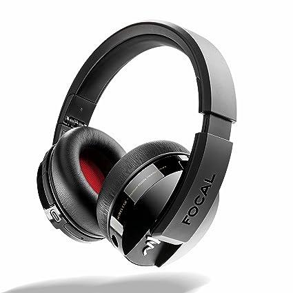 Focal Listen Wireless Circumaural Diadema Negro - Auriculares (Circumaural, Diadema, Inalámbrico y alámbrico