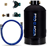 """Portable RV Water Softener 16,000 Grain PRO Premium Grade, Trailers, Boats, Mobile Car Washing, High Flow 3/4"""" GH Ports"""
