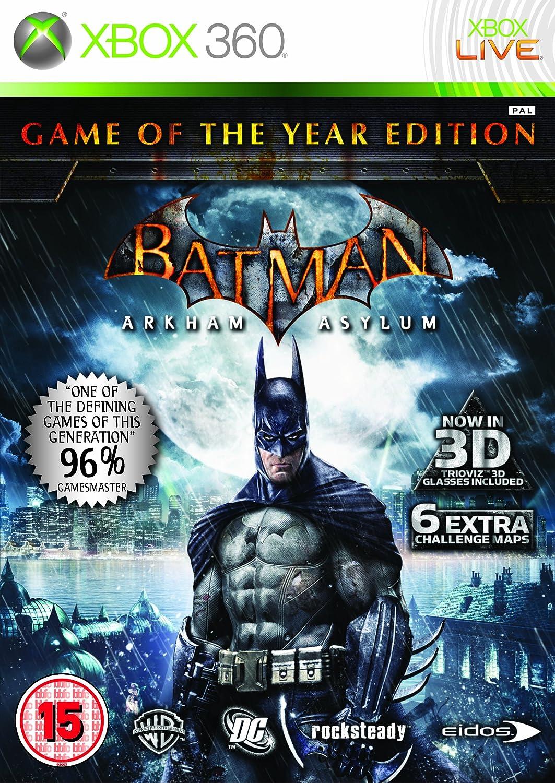 Import Anglais]Batman Arkham Asylum Game Of The Year Edition (GOTY ...