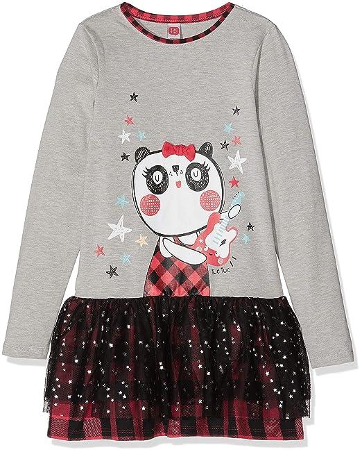 Tuc Tuc Prenda Combinado NO Rules, Vestido para Niñas, (Gris 00), One Size (Tamaño del Fabricante:1A): Amazon.es: Ropa y accesorios