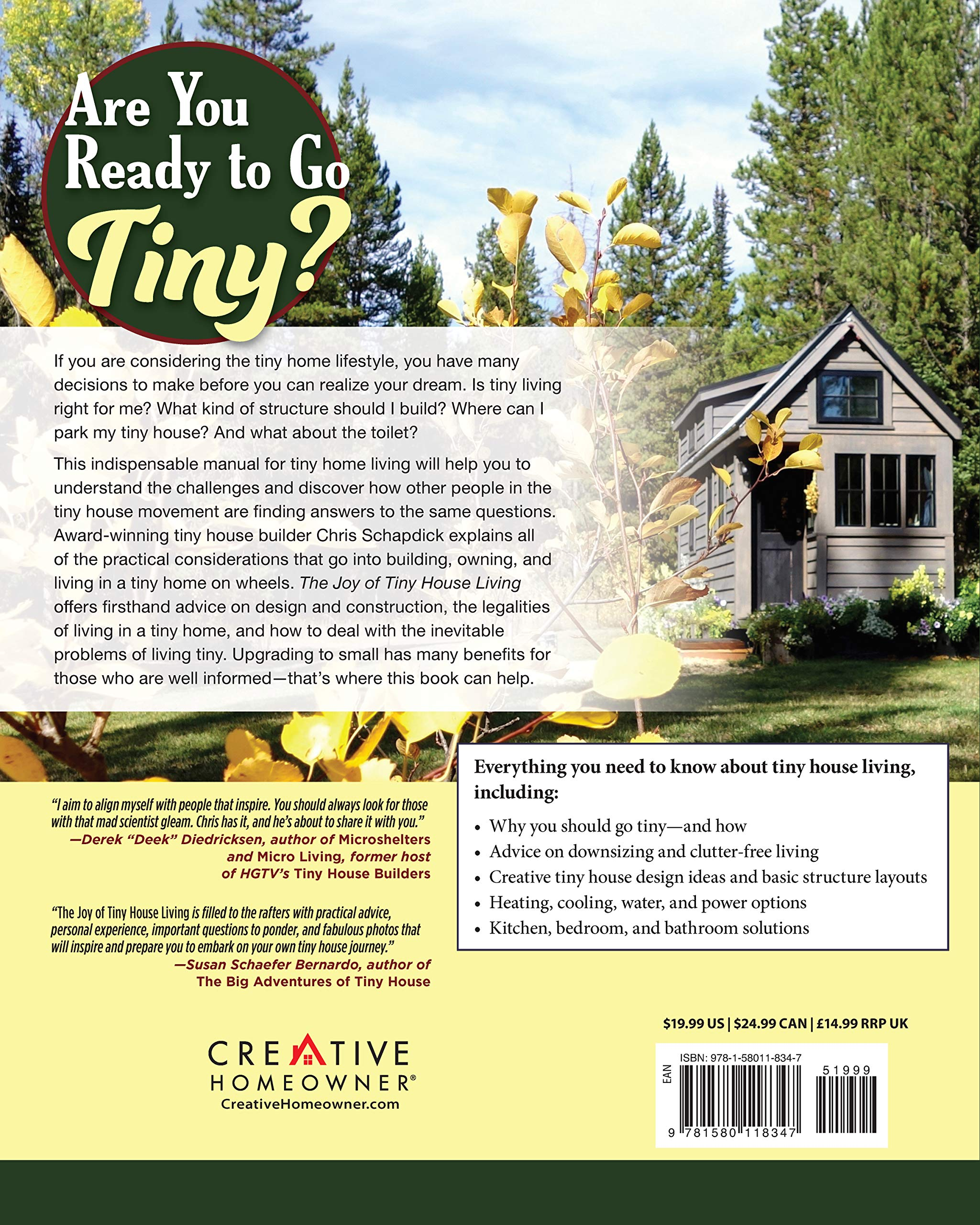 The Joy Of Tiny House Living Everything You Need To Know Before