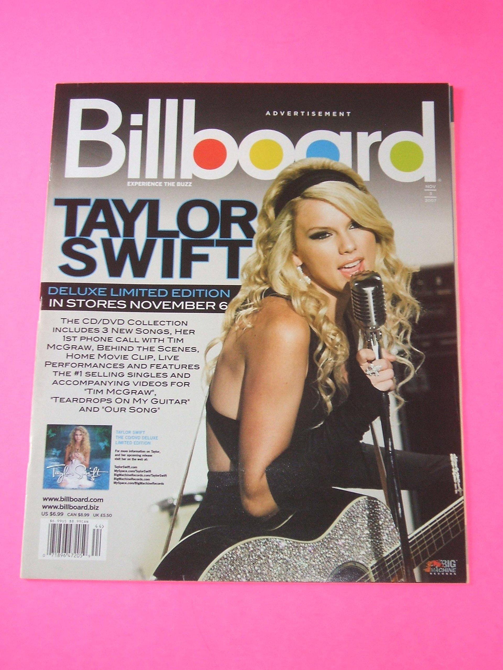 Taylor Swift L Eddie Vedder Pearl Jam Sean Penn L The Film Issue November 3 2007 Billboard Bill Werde Bill Werde Amazon Com Books