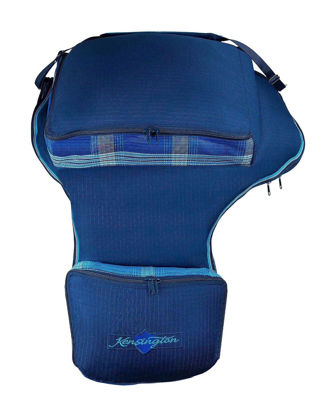 Dark bluee Kensington KPP Roustabout Western Saddle Cover