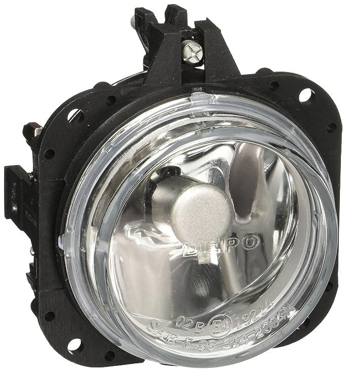 amazoncom depo 3142004naq mitsubishi side replacement fog light assembly automotive