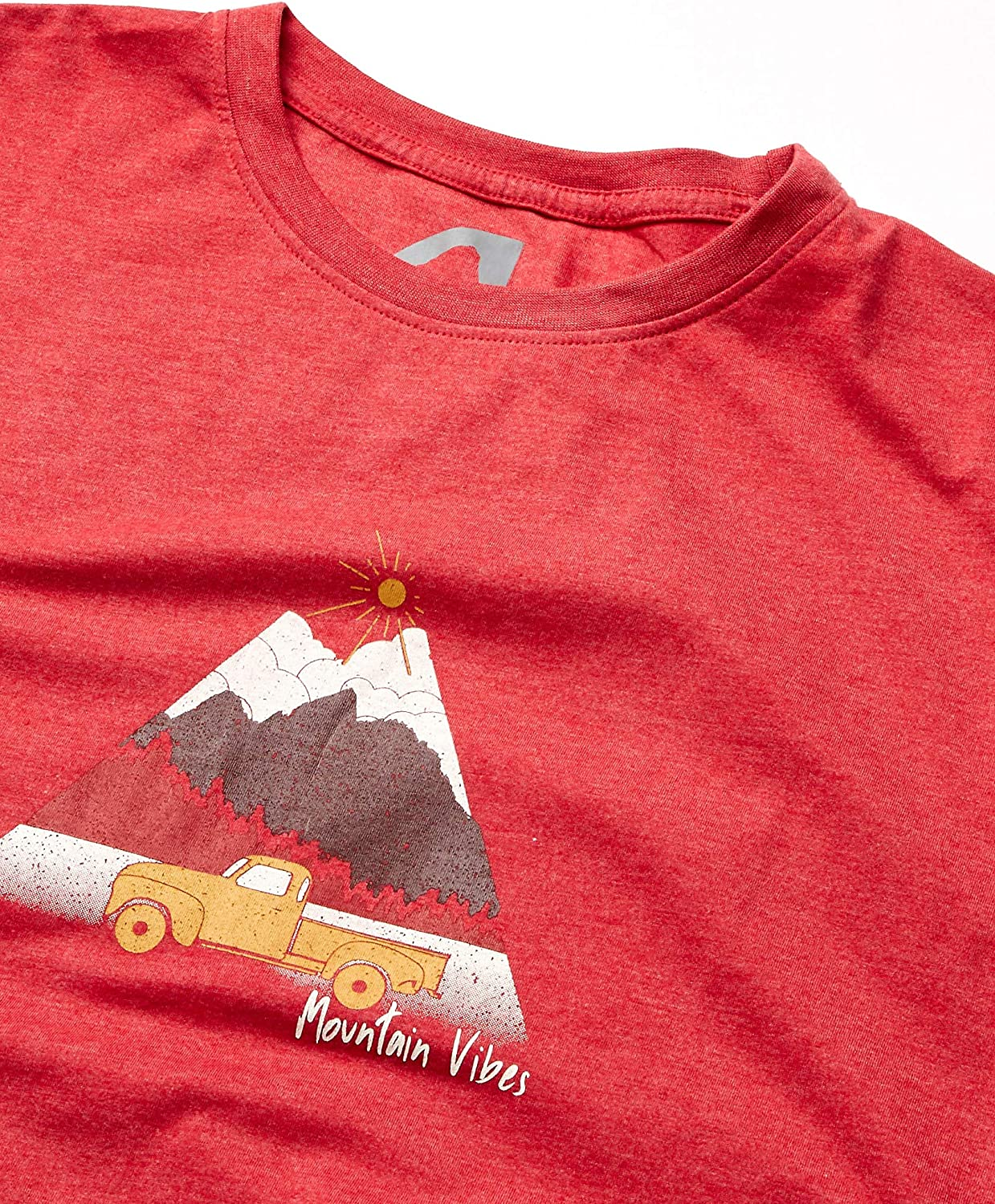 Organic Cotton Recycled Material Tee XX-Large Red Heather Mountain Khakis Mens Retro T-Shirt