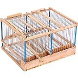 Gabbia cinciarella trappola per voliera canarini uccelli for Trappola per gazze