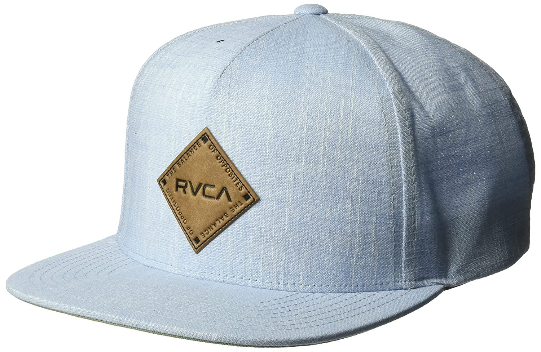 RVCA Men's Finley Snapback Hat Black Heather ONE Size MAHWPRFL