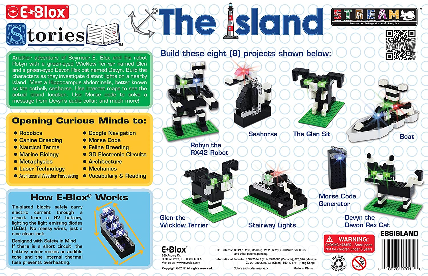 E Blox Stories The Island Building Set Toys Games Parallel Circuit For Kids Look At