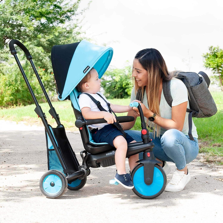 Color Azul 5021800 SMARTRIKE smarTfold 300 Triciclo Plegable para beb/é