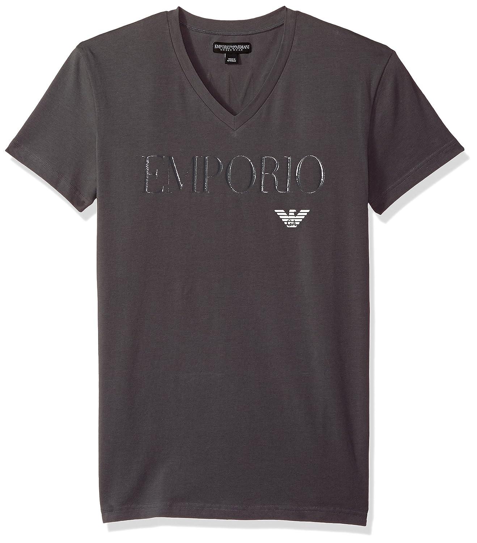 Emporio Armani T-Shirt Maglietta Uomo Scollo V Manica Corta Articolo 110810 8P51