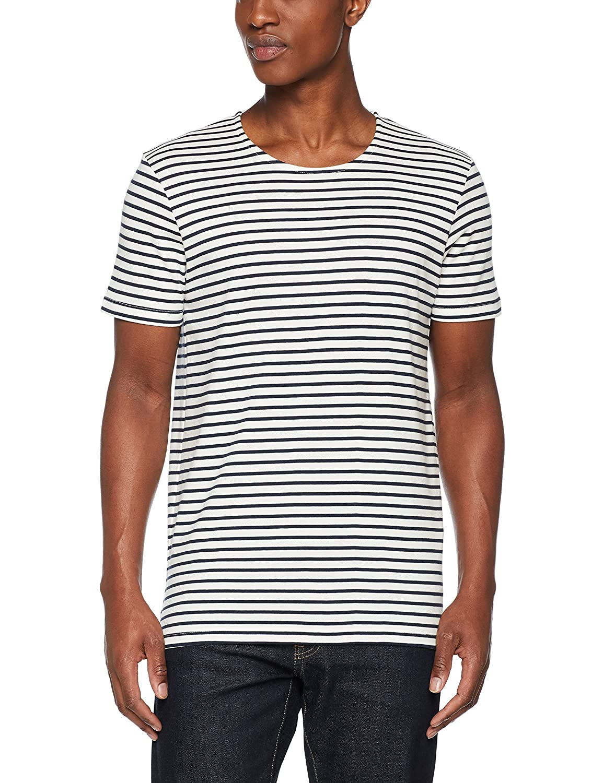 SELECTED HOMME Herren T-Shirt Shhbret SS O-Neck Tee NOOS: Amazon.de:  Bekleidung