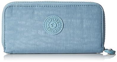 Kipling - Uzario, Carteras Mujer, Blau (Pastel Blue C), One Size: Amazon.es: Zapatos y complementos