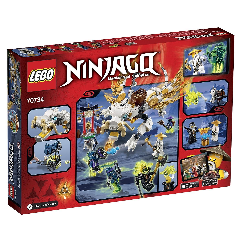 Lego Ninjago 70734 Master Wu Dragon Ninja Building Kit By Lego