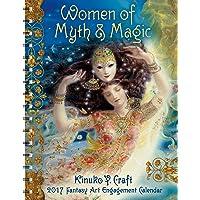 Women of Myth & Magic 2017 Fantasy Art Engagement Datebook Calendar