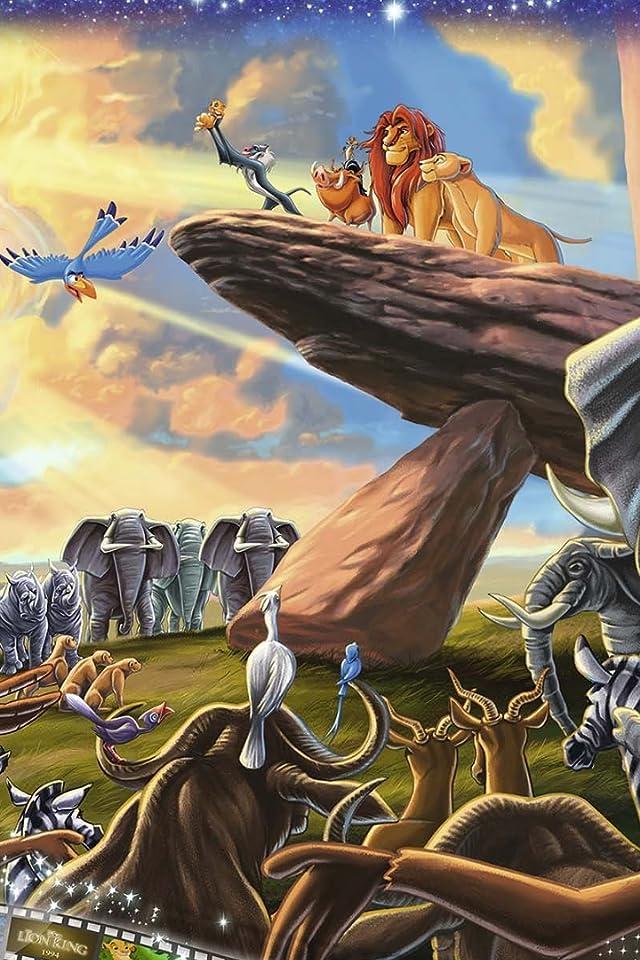 ディズニー Lion King iPhone(640×960)壁紙画像