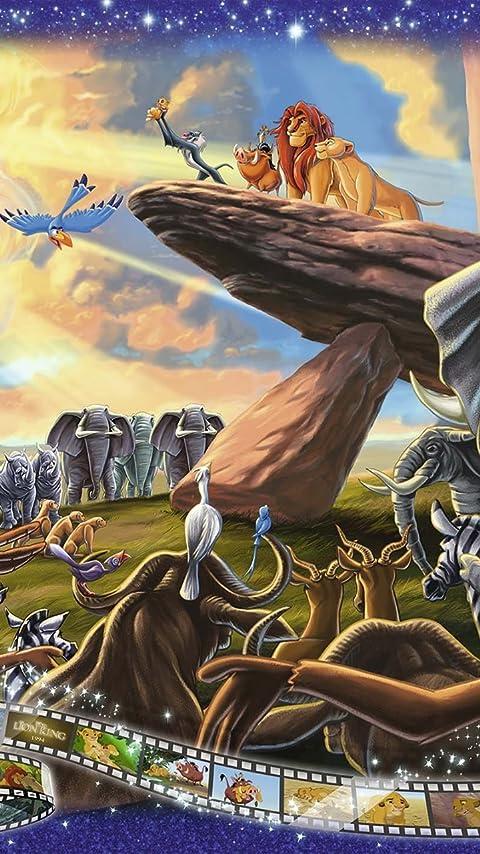 ディズニー Lion King XFVGA(480×854)壁紙画像