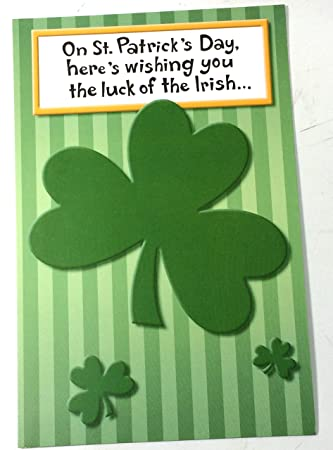Amazon st patricks day cards someone special funny on st st patricks day cards someone special funny on st patricks day heres m4hsunfo
