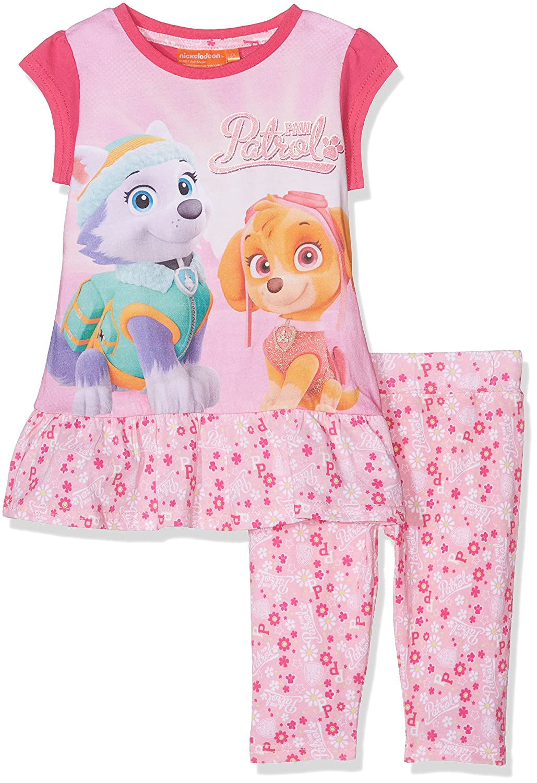 Nickelodeon Girl's Paw Patrol Sportswear Set Pink 2-3 (Size:3 Years) QE1413