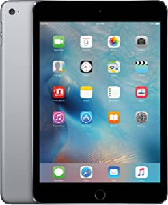 Apple iPad mini 4 64GB (Wi-Fi) 7.9-Inch iOS Tablet - Space Gray (Renewed)