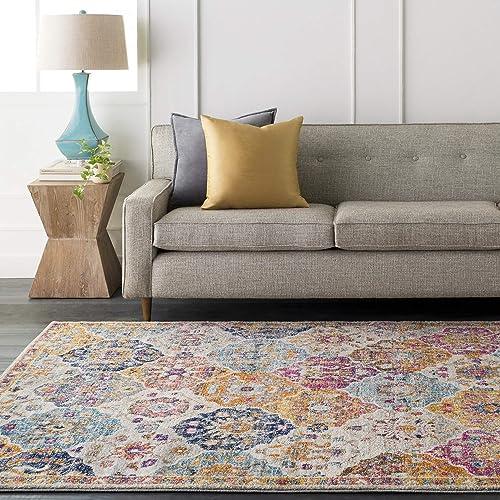 Artistic Weavers Eveline Area Rug 7'10″ x 10'3″ Saffron