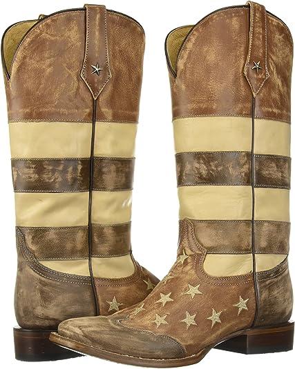 Details about  /Roper Women/'s Vintage Americana Flag Western Boot Choose SZ//color