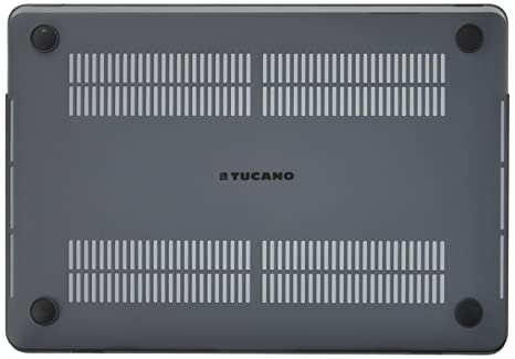 on sale 9e8e1 36f5e Tucano Nido Hardshell Laptop Case For Men and Women, Macbook Pro 13 Inch,  Black