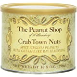 The Peanut Shop of Williamsburg Crab Town Nuts, 10.5-Ounce Tin
