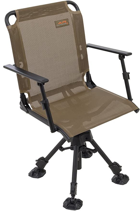Best hunting blind chair: ALPS OutdoorZ Stealth Hunter Blind Chair