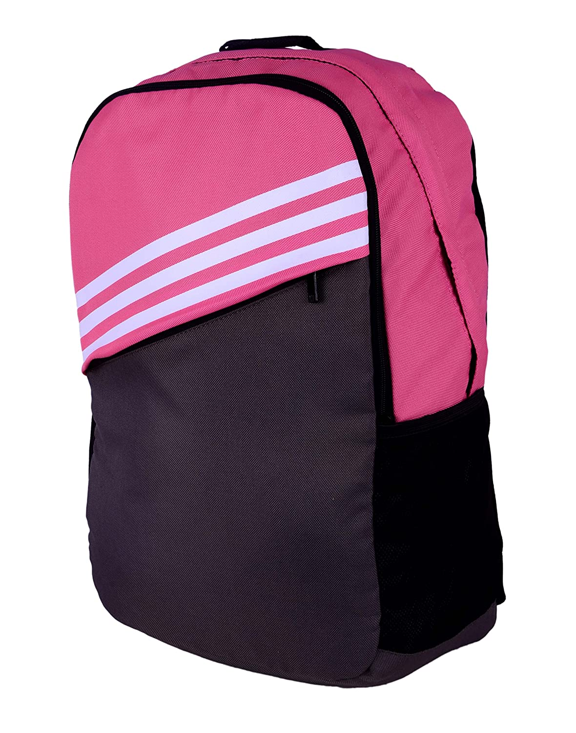 adidas St BP 2A Polyester Backpack, Men s (Semi Solar Pink and Black)   Amazon.in  Bags, Wallets   Luggage 658fa7af09