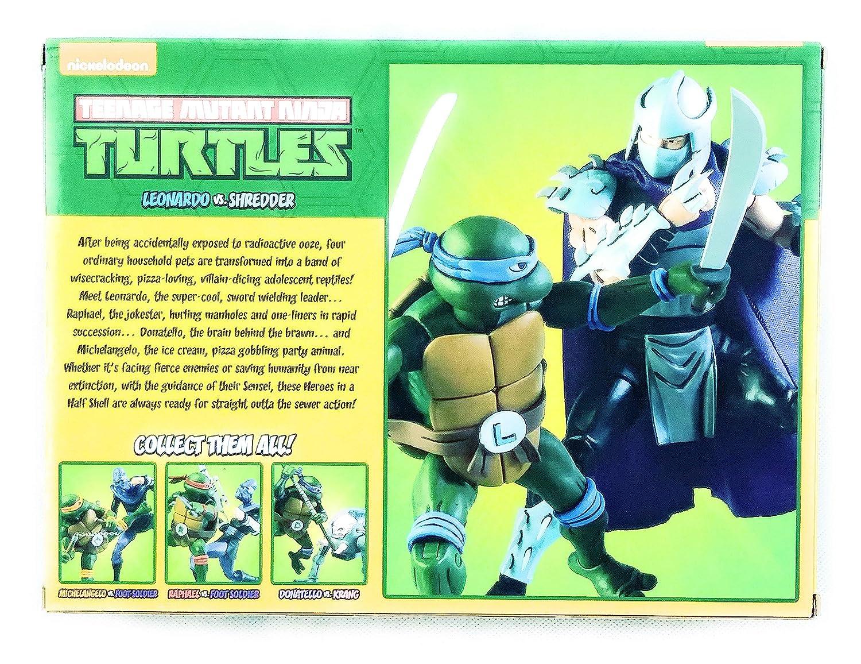 NECA Leonardo V Shredder (Teenage Mutant Ninja Turtles ...