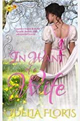 In Want of a Wife: A Sweet Regency Romance Novella Kindle Edition