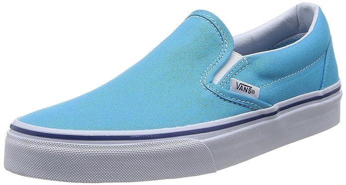 Vans Unisex-Erwachsene Classic Slip-On Low-top Türkis - Turqoise - Cyan Blue