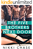 The Five Brothers Next Door: A Reverse Harem Romance (English Edition)
