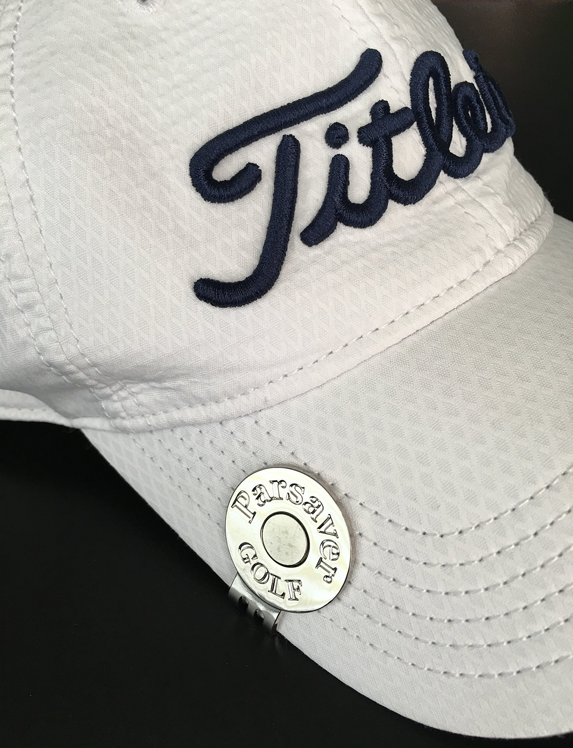 Parsaver Swarovski Crystal Golf Ball Markers - with Hat Belt Clip - Air Force Ball Marker - A Great Golf Gift idea for Men Women - Golf Course Accessories