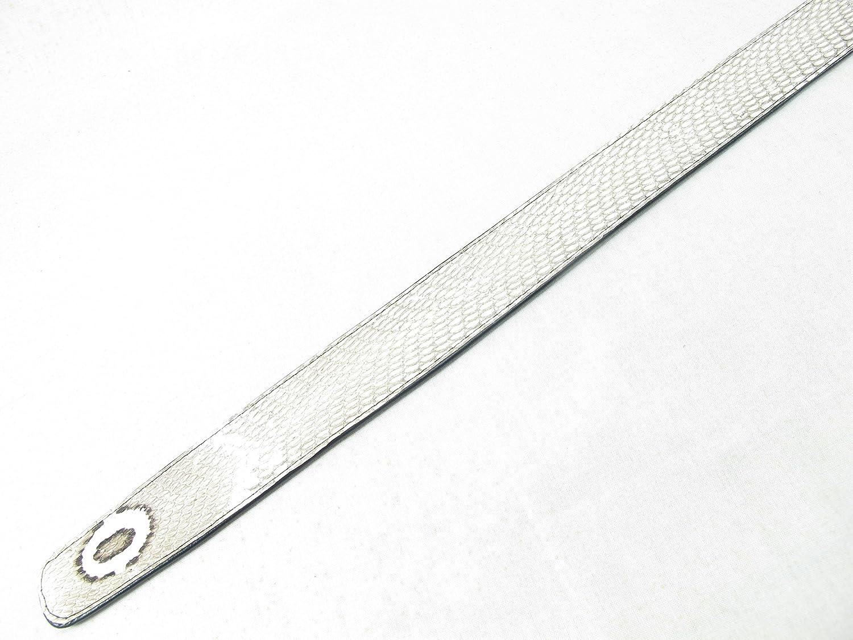 PELGIO Genuine Cobra Snake Skin Mens Belt 46