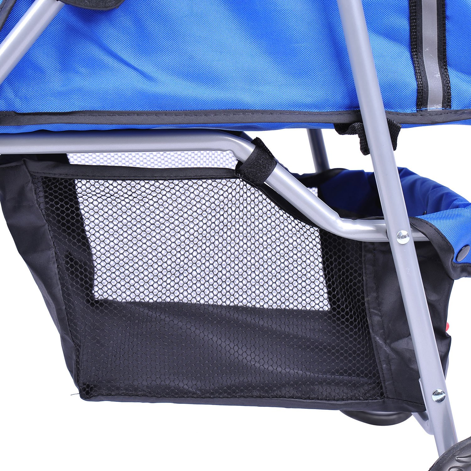 MDOG2 MK0015A 3-Wheel Front and Rear Entry Pet Stroller, Blue by MDOG2 (Image #6)