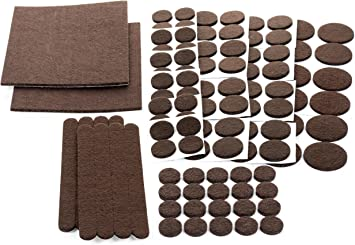 Floor Effects Felt Pads Heavy Duty Adhesive Furniture Pads