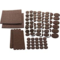 Floor Effects Felt Pads, Heavy Duty Adhesive Furniture Pads - Floor Protector for Tiled, Laminate, Wood Flooring - 123…