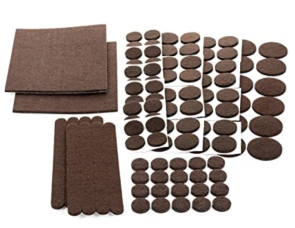 Floor Effects Felt Pads Heavy Duty Adhesive Furniture Pads Floor