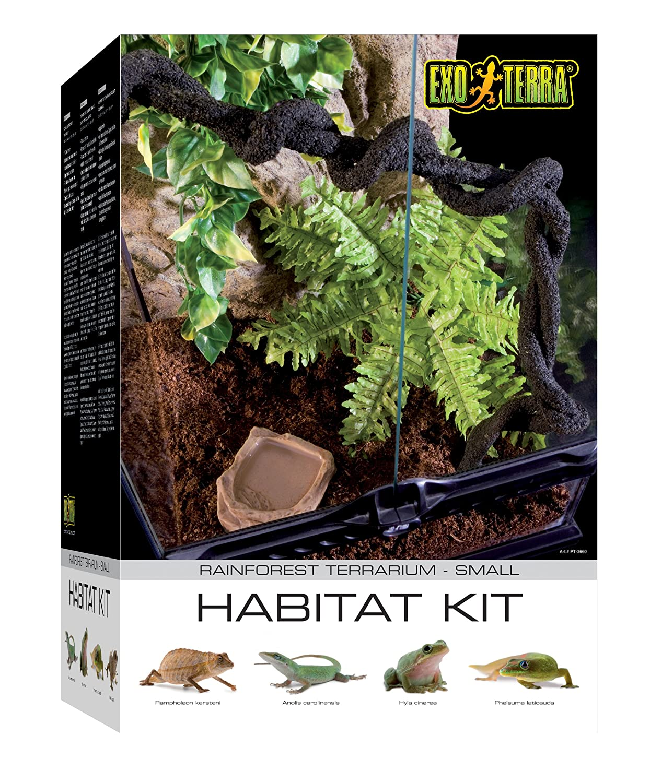 Amazon Com Exo Terra Pt2607 Rainforest Habitat Kit Medium Pet
