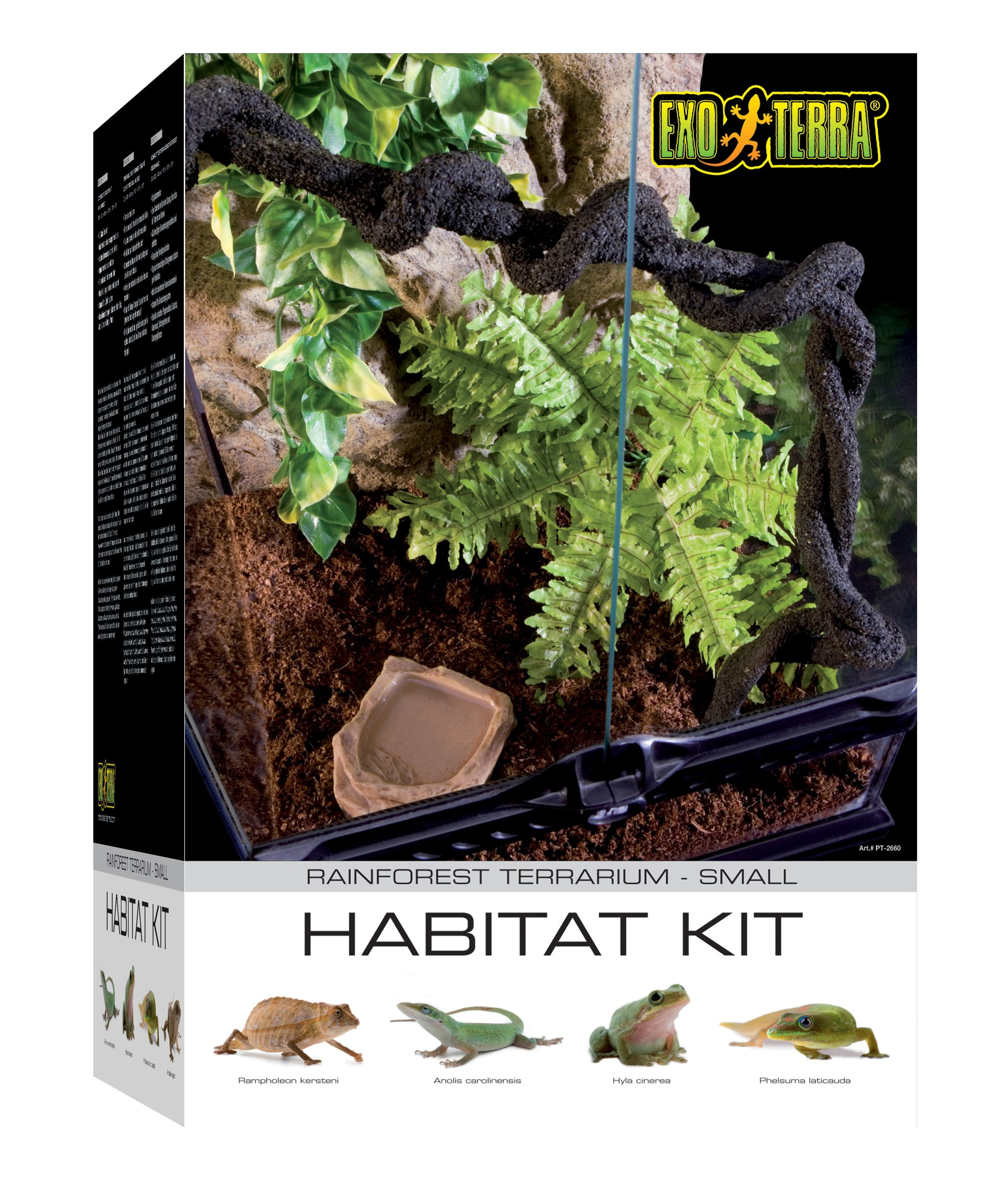 Exo Terra Rainforest Habitat Kit (includes PT2602) - Small by Hagen